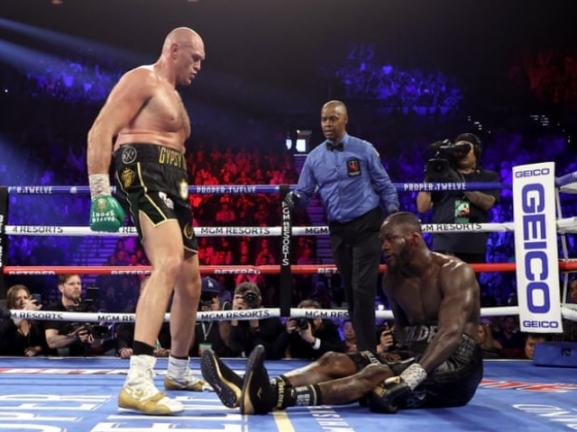 Deontay Wilder's Utterly Ridiculous Excuse For Losing To Tyson... - 2oceansvibe News