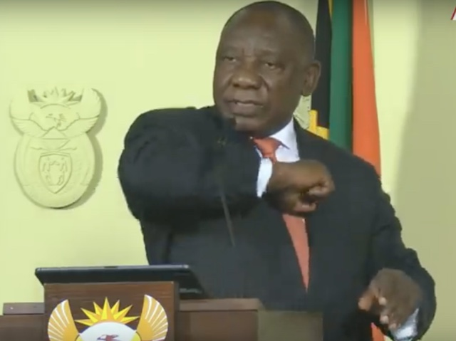 Cyril-Ramaphosa-elbow-greeting