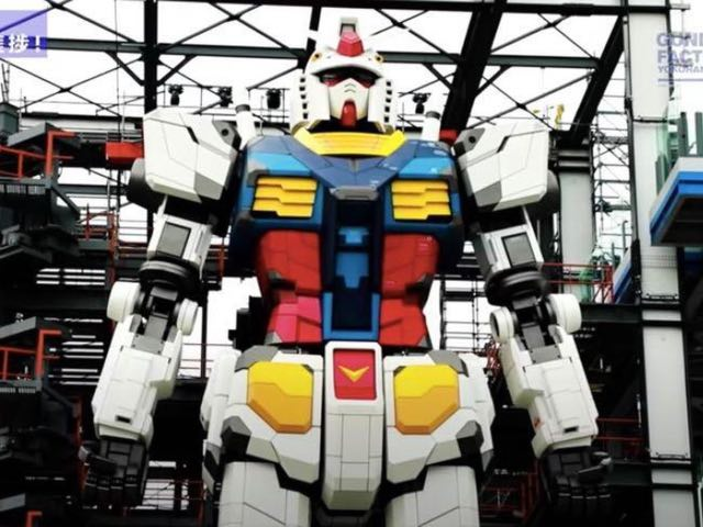 This 18-Metre Tall Japanese Robot Is Warming Up [Video] - 2oceansvibe News